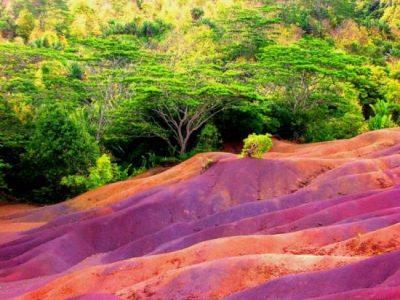 Разноцветные земли Шамарель
